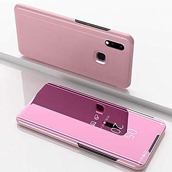 Funda para Xiaomi Redmi Note 7 Estuche Espejo Elegante Cover de ...