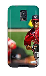 Hot washington nationals MLB Sports & Colleges best Samsung Galaxy S5 cases
