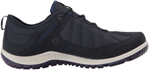 Navy ECCO Women's Hiking Textile Aspina Shoe Gore Navy True Low Tex HPdxH87r