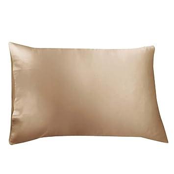 da7dabf79e Amazon.com  ElleSilk Natural Silk Pillowcase