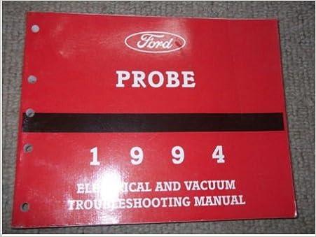 1994 ford probe electrical wiring diagrams service shop manual ewd evtm oem  book paperback – 1994