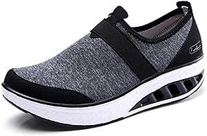 Sweepstakes: ZYEN Women Comfortable Walking Shoes Fashion Slip On Sneakers...
