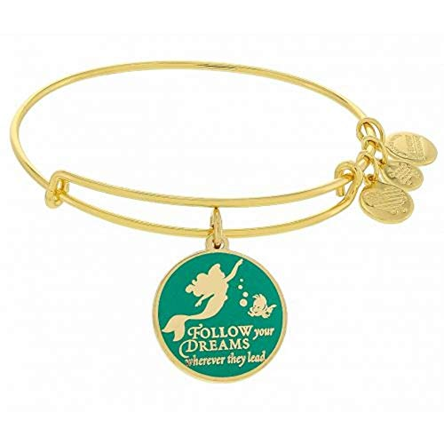 Disney Parks Alex and Ani Little Mermaid Princess Ariel Enamel
