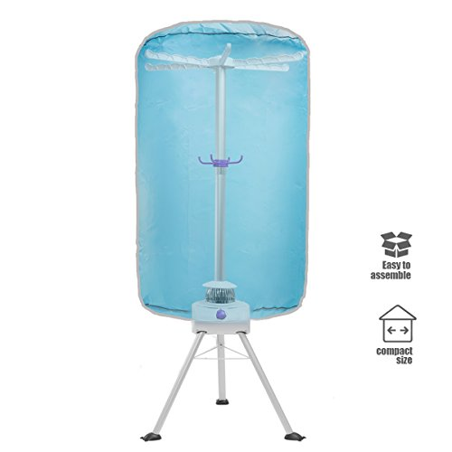 XtremepowerUS Portable Ventless Clothes Dryer