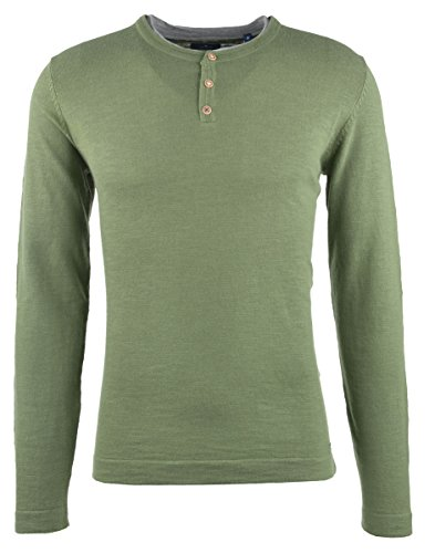 Larga Jerséi Green Manga Hombre Tom Tailor Oak Para Leaf wg4qaaSU