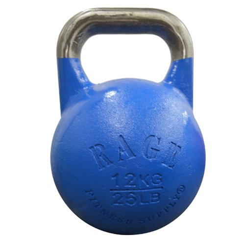 RAGE Fitness Competition Kettlebell - 12 kg / 26 lbs - Blue