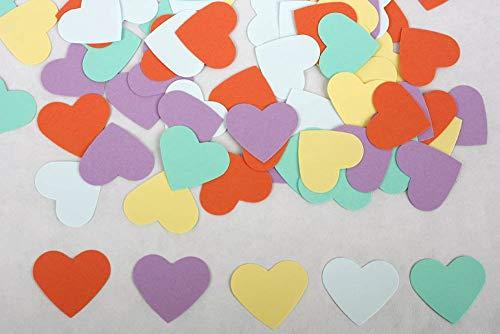 100 count Paper Heart Confetti