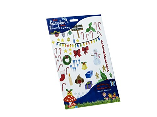 The Irish Fairy Door Company - Christmas Decorations Decal Pack (Fairy Tales Costumes For Boys)