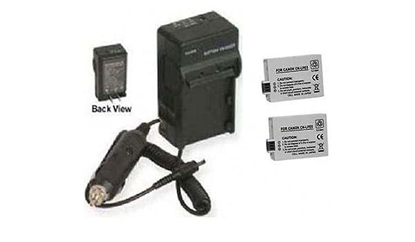 Dos 2 baterías LP-E5 + Cargador para Canon EOS 450D, Canon ...
