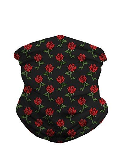 - INTO THE AM Roses Seamless Mask Bandana