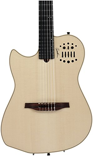 (Godin Multiac Nylon SA Left Natural HG)