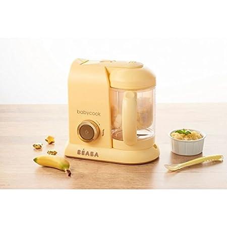 Bé aba Babycook Solo MACARONS Edició n Limitada - Robot de cocina 4-en-1 (UK IMPORT - Color: Vainilla) Béaba 912617