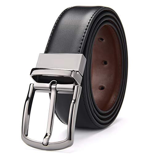 [해외]회전 하는 버클을 가진 남자를 위한 DWTS 남자의 벨트 진짜 가죽 벨트 / DWTS Men`s Belt Genuine Leather Belts For Men Reversible with Rotated Buckle