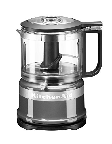 KitchenAid 5KFC3516 Picadora, 240 W, De plástico, 2 Velocidades, Gris Oscuro [Clase de eficiencia energética A] River 5KFC35616 ECU