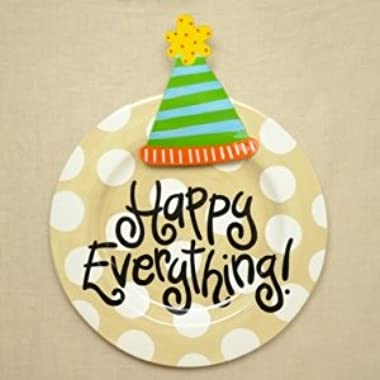 Happy Everything Big Platter - Neutral