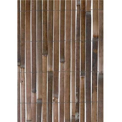 Split Bamboo Shade - Gardman R669 Split Bamboo Fencing, 13' Long x 6' 6