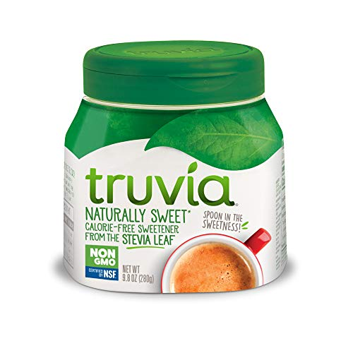 Truvia Spoonable Natural Stevia Sweetener, 9.8 Ounce (Pack of 1) Jar
