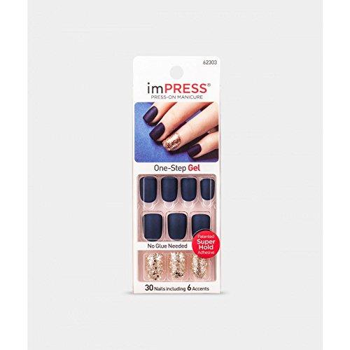 Impress KISS Nails Press-On Manicure Nails (BIPA020-62303 BELLS & WHISTLES)