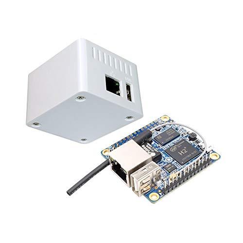 Compatible SCM & DIY Kits Raspberry Pi & Orange Pi - 2-in-1 Zero H2 Quad Core Open Source 256MB Development Board + Protective Case Kit -
