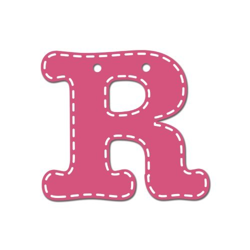 CoCaLo Mix & Match Pink Hanging Letter, R by Cocalo [並行輸入品]   B015RY5Y40