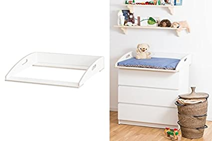 Cambiador ufsatz para cómoda de Ikea Malm/Designer Edition ...