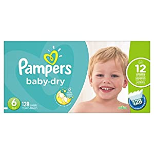 Ratings and reviews for Pampers Baby-Dry Disposable Diapers Size 6, 128 Count, ECONOMY PACK PLUS