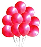 Elecrainbow 12 inches Balloons, 100 Pack, 3.2g