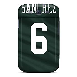 Scratch Resistant Hard Cell-phone Case For Samsung Galaxy S3 (wrN2898BlBu) Provide Private Custom High-definition New York Jets Pictures