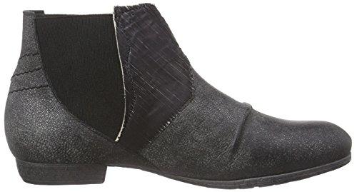 Think!Ebbs Chelsea Boot - botines chelsea Mujer Gris - Grau (ANTRAZIT/KOMBI 15)