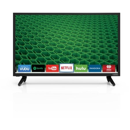 """VIZIO D24-D1 24"""" 1080p 60Hz LED Smart HDTV, Built-in WiFi/ Built-in Digital Tuner"""