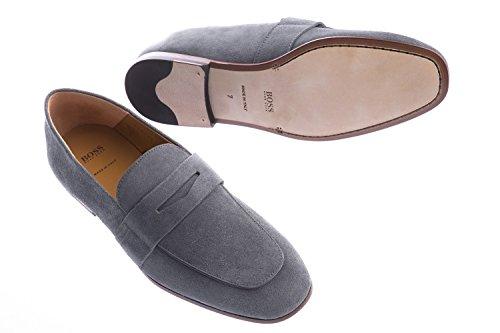 BOSS Safari Suede Loafer in Grey