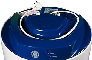 Calentador de Agua Vertical Resistencia Cer/ámica Envainada Serie Elba Fleck Grupo Ariston Termo El/éctrico 50 litros Control El/éctronico de la Temperatura
