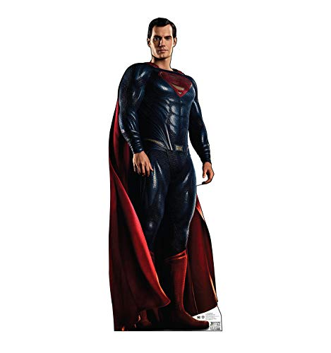 Advanced Graphics Superman Life Size Cardboard Cutout Standup - Justice League (2017 Film)