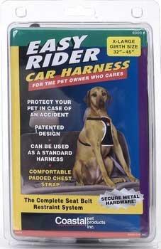 Dog Easy Harness Rider - C NYL EASY RIDER CAR HARN. XLG