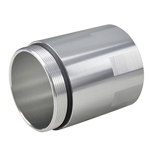 ALLOYWORKS Baffled Billet Aluminum Oil Catch Tank Can Reservoir Tank Universal ( Silver ) by ALLOYWORKS (Image #4)