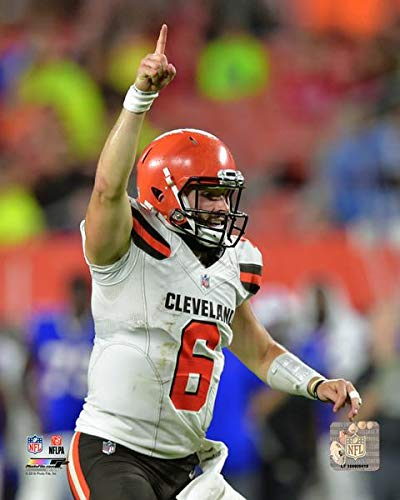 Size: 8 x 10 Baker Mayfield Cleveland Browns Action Photo