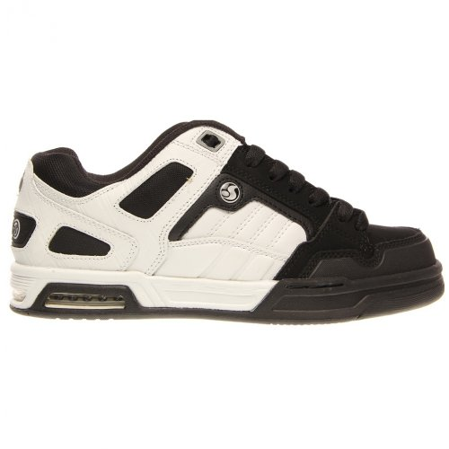 White Black Men's Throttle DVS Nubuck Shoe WqpwY4gO