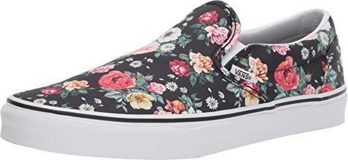 Vans Mens U Clasic Slip ON Garden Floral True White Size 5.5]()