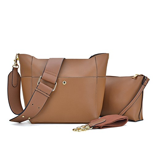 2 Pouch Inner W Bag Leather Hobo 1092 Bag Dasein Crossbody Matching stone 1 in Cosmetic Vegan Messenger Shoulder ZwvvPdq
