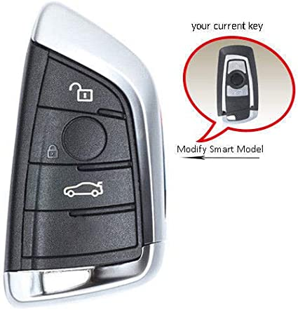 GREY BMW F 1 2 3 5 Series Remote Key Cover Case Protective 360 F20 F10 F30