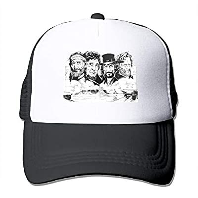 Rodney L Robbins Outlaw Both Men and Women Trucker Hats