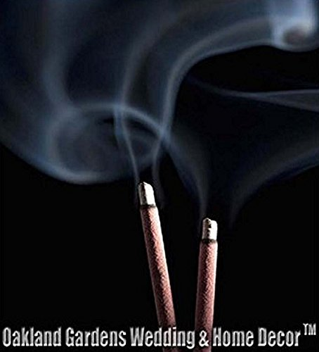 PATCHOULI Incense - Overall earthy, dark-cold, slightly sweet. Musky incense of choice for years - Premium Choice Incense By Oakland Gardens (Patchouli (100 Sticks))