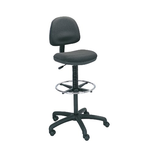 Safco Precision Extended-Height Chair with Footring
