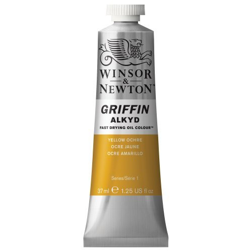 winsor-newton-griffin-alkyd-fast-drying-oil-color-tube-37ml-yellow-ochre-by-winsor-newton