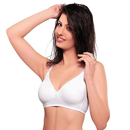 384d7d207 Juliet Moulded T-Shirt Bra-Wh-34B  Amazon.in  Clothing   Accessories