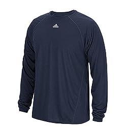 Adidas Climalite Mens Long Sleeve Training Tee 3xl Navy