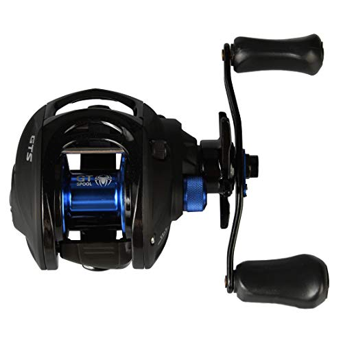 CastPlay Fishing Gear Bass Fishing Reels Baitcasting Carbon Fiber Reel with Stainless Steel Bearings,11+1BB,Fiber Drag,17.5lb,7.0:1 Gear Ratio,Lightweight Reel Fishing Reels (Left Handed)