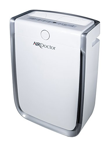 AIR DOCTOR 4-in1 Air Purifier, Ultra HEPA, Carbon & VOC Filters Eliminate Smoke, Mold, Germs & Viruses, Pollen, Pet Dander, Pet Hair, Viruses, Bacteria, Odors and Dangerous Gasses - White by AIRDOCTOR