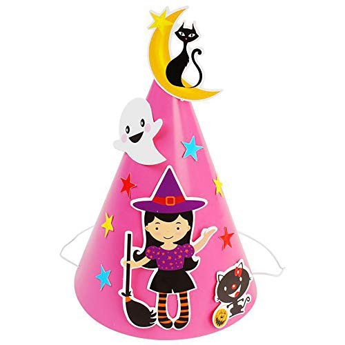 Leoy88 DIY Halloween Cosplay Bat Pumpkin Hat (E)]()