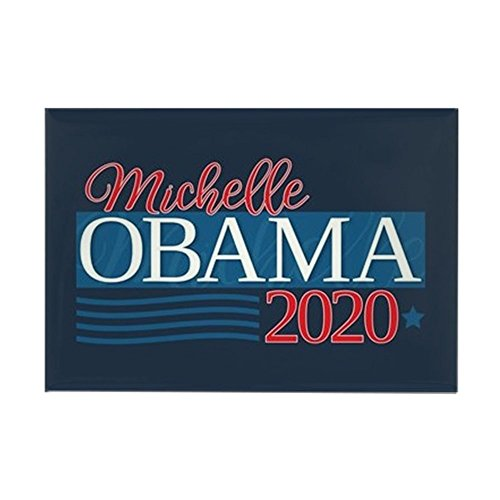 CafePress - Michelle Obama 2020 - Rectangle Magnet, 2